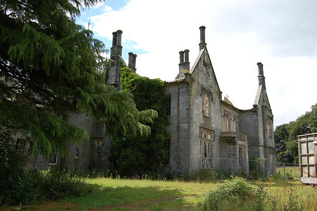 Entrance front, Lathallan House, Polmont. Stirlingshire