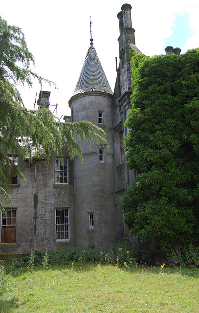 Garden front, Lathallan House, Polmont. Stirlingshire