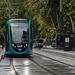 BESANCON: 2014.08.30 Inauguration du Tram: Mise en place des rames. 01