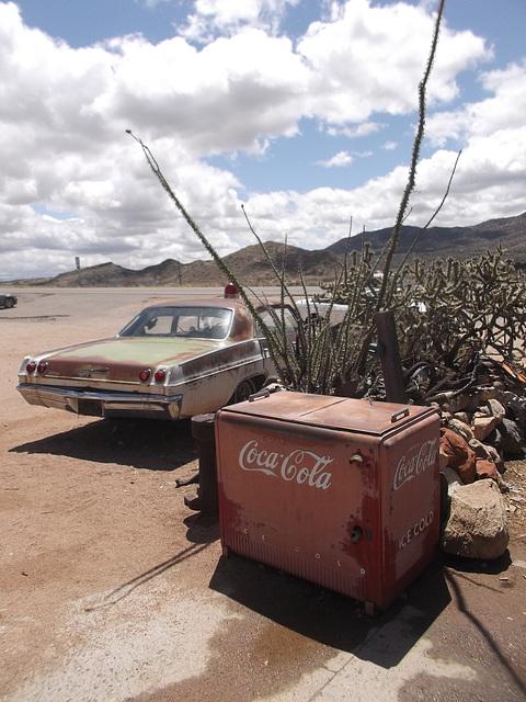 Rusty Coca-cola.