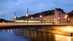 BESANCON: 2014.08.31 Inauguration du Tram: Pont Battant 01