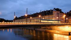 BESANCON: 2014.08.31 Inauguration du Tram: Pont Battant 02