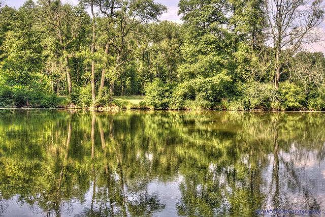 Kačina Château  - Pond