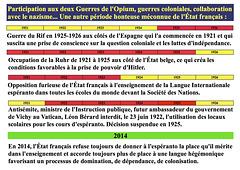 Mispaŝoj de la franca ŝtato 1921-1926 / Faux-pas de l'État français 1921-1926