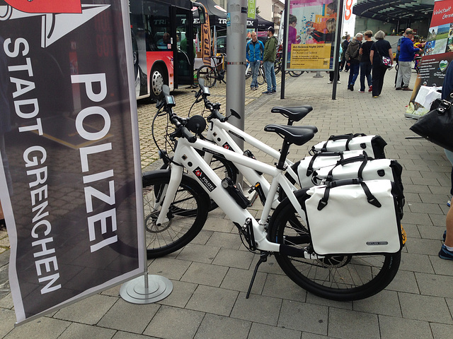 Home town police bikes