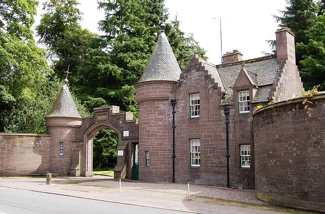 Dalhousie Estate Lodges, Brechin, Angus, Scotland