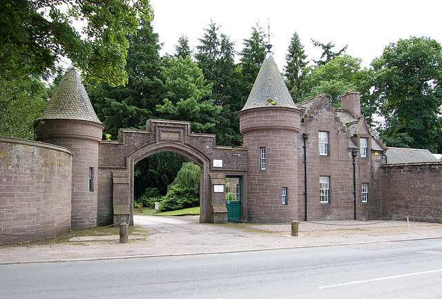 Dalhousie Estate Lodges, Brechin, Angus, Scotland