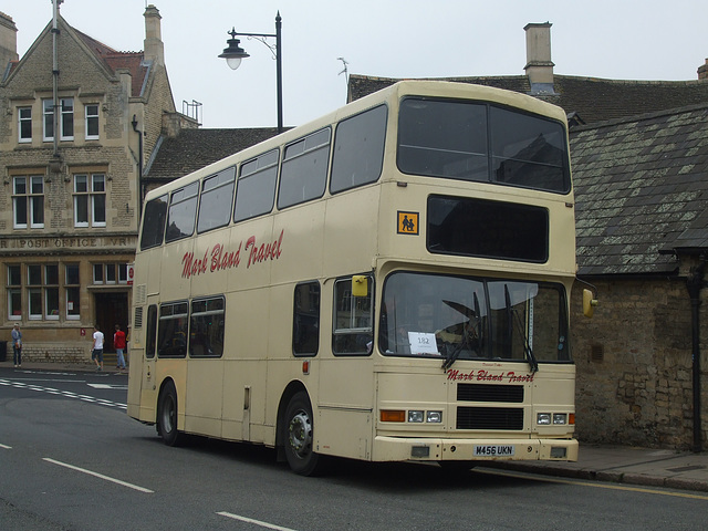 DSCF5918 Mark Bland Travel M456 UKN in Stamford - 11 Sep 2014