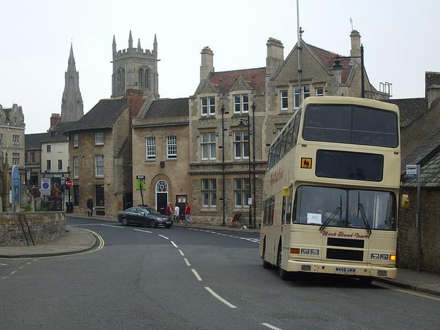 DSCF5919 Mark Bland Travel M456 UKN in Stamford - 11 Sep 2014