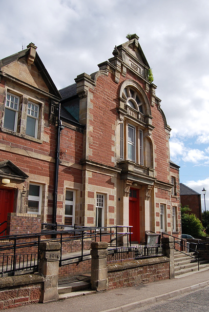 Public Hall, Kirriemuir, Angus, Scotland