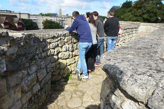 Caen 2014 – Looking out from the Castle