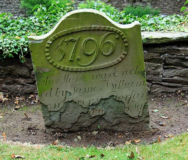 Grave stone at Forfar