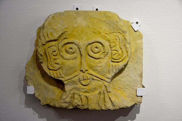 Caen 2014 – Musée de Normandie – Stone from the Pental Abbey