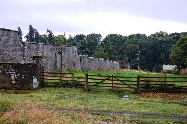 Walled Garden, Panmure Estate, Angus, Scotland