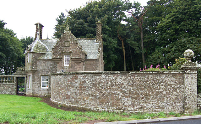 Lodge House, Panmure Estate, Angus, Scotland