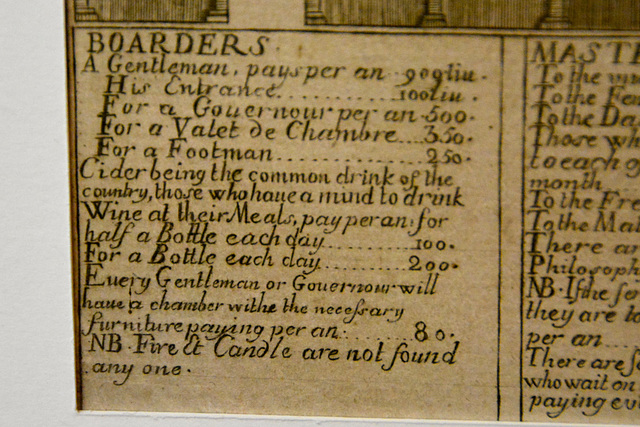 Caen 2014 – Musée de Normandie – Équitations – Cider being the common drink of the country
