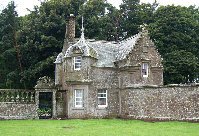 Lodge House, Panmure Estate, Angus, Scotland