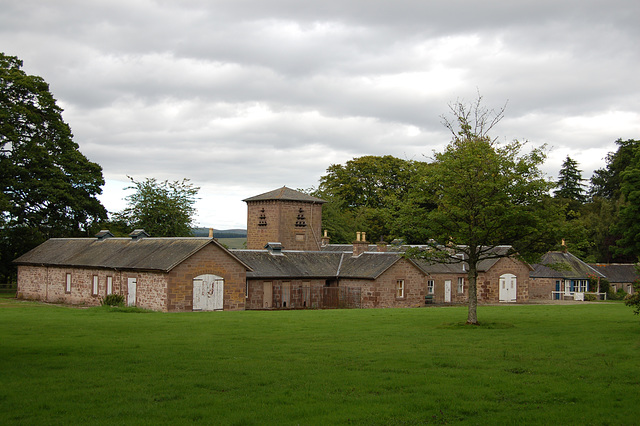 Former outbuildings, Craigo House Estate, Westerton, Angus, Scotland