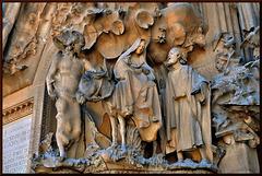 La Sagrada Família detail ~Barcelona ~