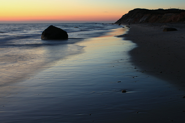 Twilight at Moshup Beach, Martha's Vineyard