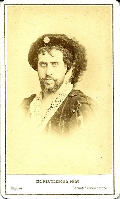 Jean-Baptiste Faure by Reutlinger