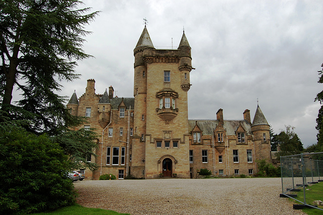 Entrance Front, Blair Drummond House, Stirlingshire