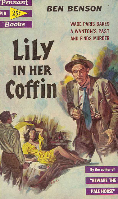 Ben Benson - Lily in Her Coffin