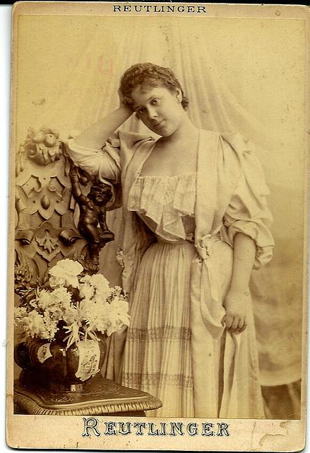 Sybil Sanderson by Reutlinger