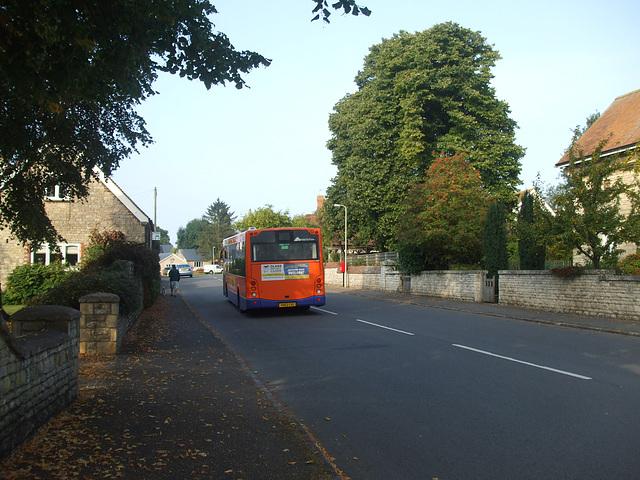 DSCF5871 Centrebus 670 (YH63 CXC) in Empingham - 10 Sep 2014