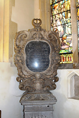 Memorial, St Andrew's Church, Kimbolton, Cambridgeshire