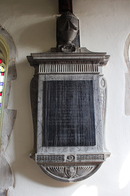 Memorial, St Andrew's Church, Kimbolton, Cambridgeshire