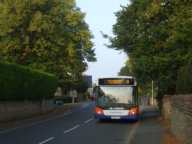 DSCF5867 Centrebus 671 (YH63 CXB) in Empingham - 10 Sep 2014