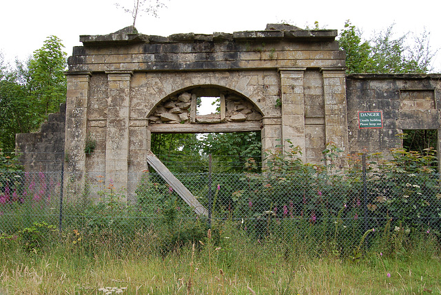 Stables at Plean House, Stirlingshire (abandoned c1970)
