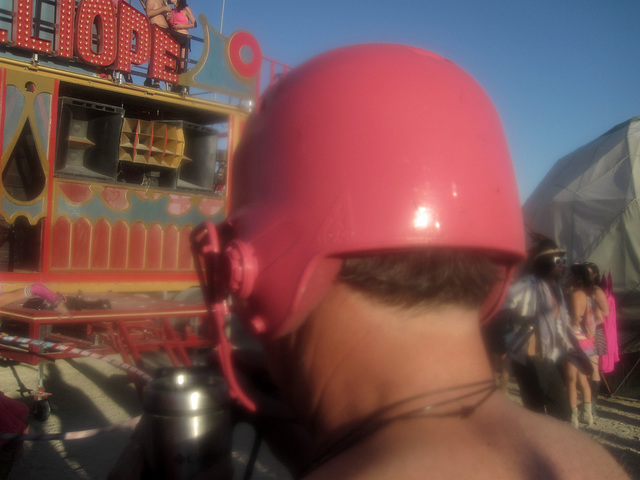 Pink Helmet At Pink Party (6137)