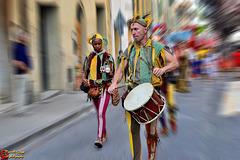 Giocolieri e suonatori   --   Jugglers and musicians  (on explore)