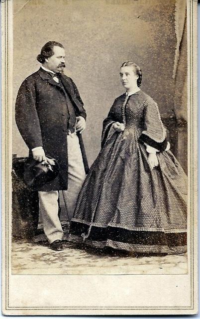 Agostino Susini & Isabella Hinckley by Brady