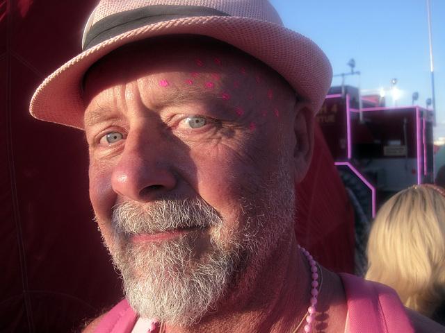 Self at Pink Party at Camp Walter (6152)