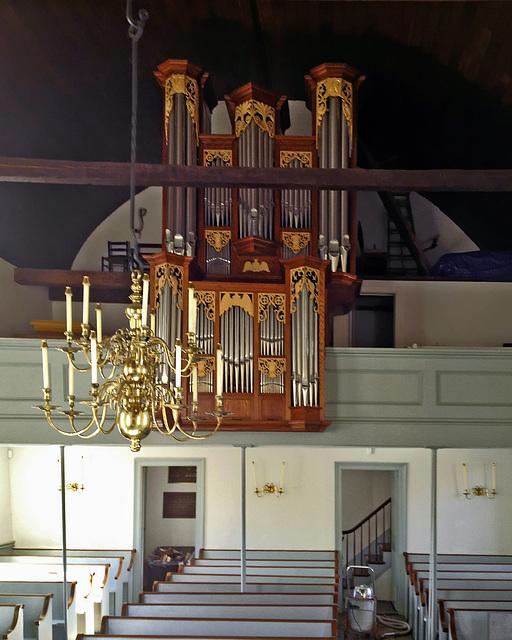 The Organ Loft – Old Dutch Church of Sleepy Hollow, Tarrytown, New York