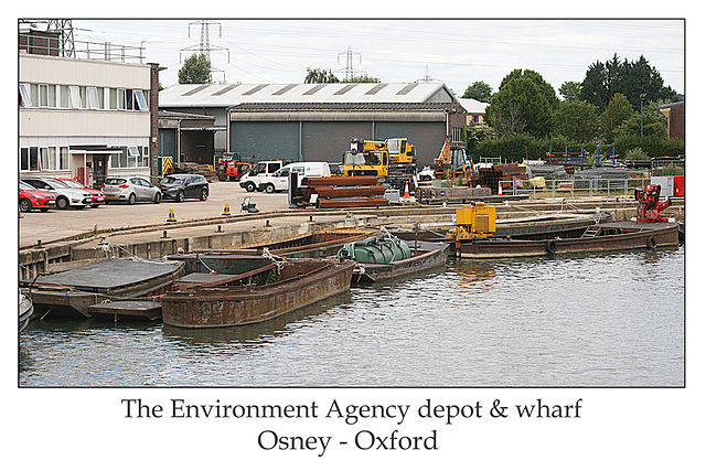 Environment Agency depot - Osney - Oxford - 24.6.2014