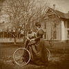 Two Women and a Bicycle