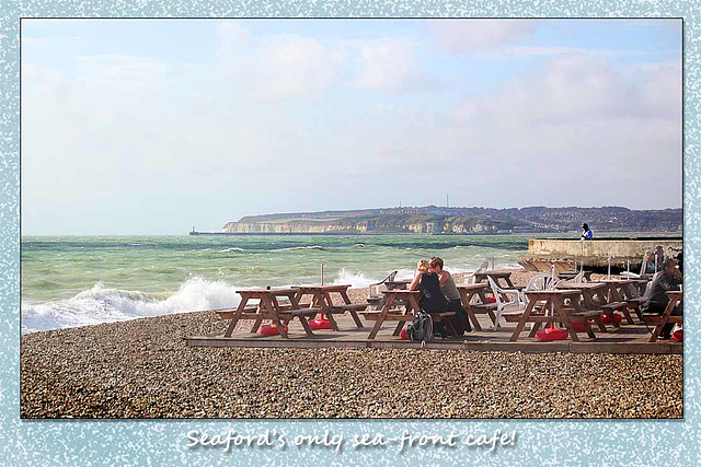Cafe on Costa del Seaford - 29.8.2014