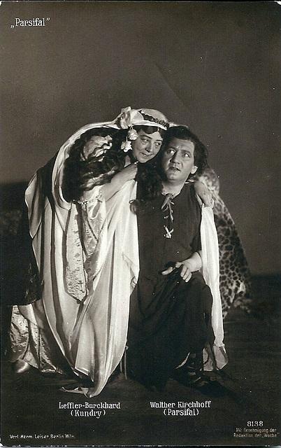 Walther Kirchoff & Martha Leffler-Burckhard