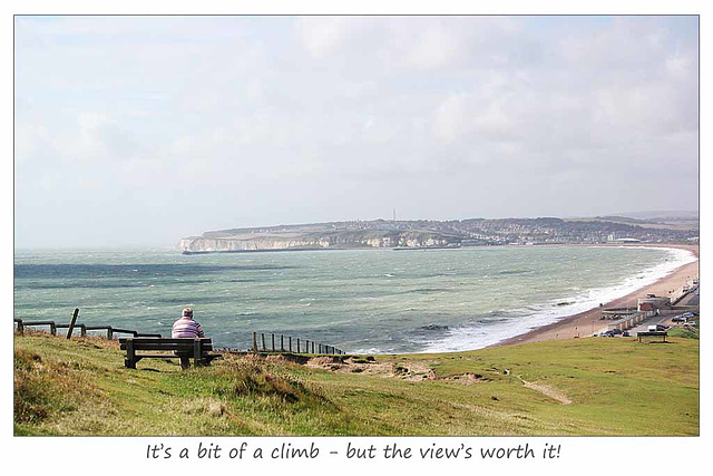 The view's worth it - Seaford - 29 8 2014