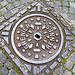 Saint-Malo 2014 – Manhole cover of Grenier of Rennes