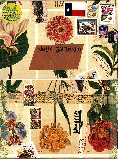 envelope for julie