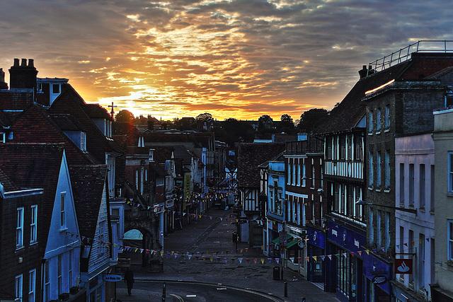 Salisbury dawn