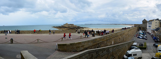 Saint-Malo 2014 – City walls and Fort National