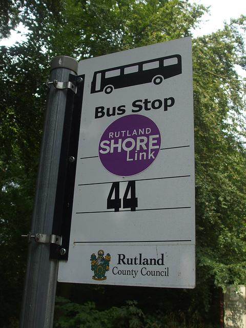 DSCF5886 Rutland Shorelink bus stop