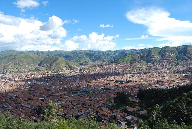 En bas ...Cusco