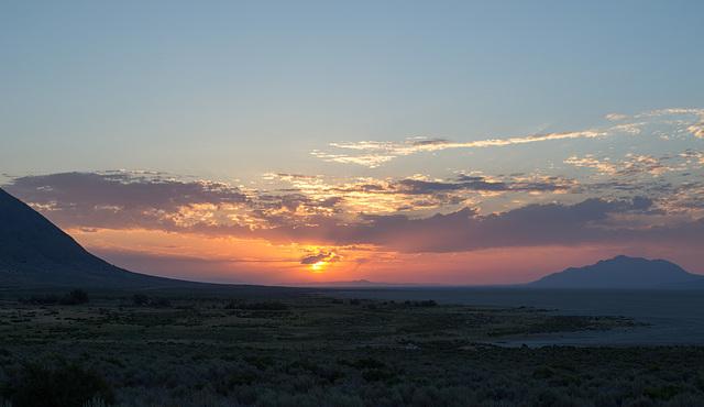Black Rock Desert, NV sunrise  (0189)